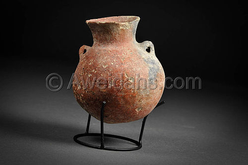 Ancient Canaanite Early Bronze Age Pottery Set, 3000 BC