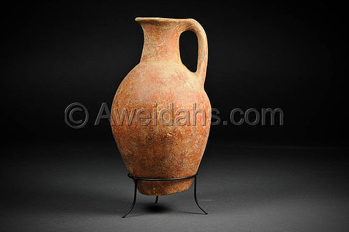 Rare Ancient Early Bronze Age Abydos wine jug, 3000 BC