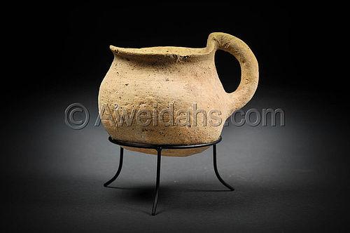Rare Ancient Pre-dynastic Abydos Ware Jug,3300 BC